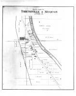 Thiensville & Mequon South Part, Washington and Ozaukee Counties 1892